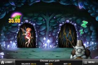 Enchanted Crystals Mobile Slot Bonus Game