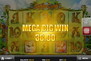 Enchanted Crystals Mobile Slot Mega Big Win