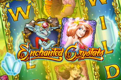Enchanted Crystals Mobile Slot Logo