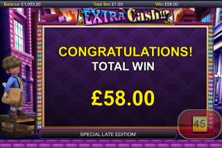 Extra Cash Mobile Slot Free Spins Win