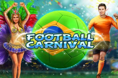 Football Carnival Mobile Slot Logo
