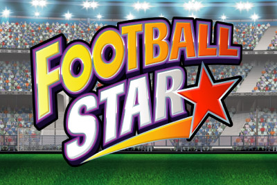 Football Star Mobile Slot Logo