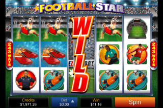 Football Star Mobile Slot Wild