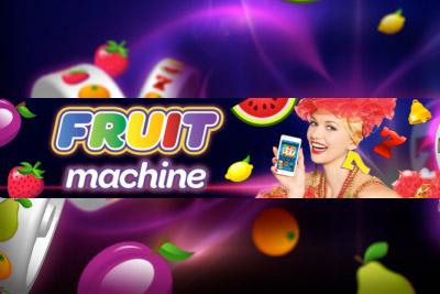 Fruit Machine Mobile Slot Logo