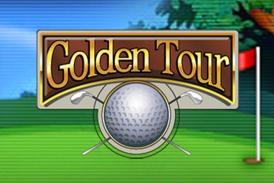 Golden Tour Mobile Slot Logo