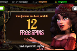 Gypsy Rose Mobile Slot Free Spins
