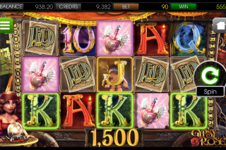 Gypsy Rose Mobile Slot Screenshot