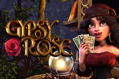 Gypsy Rose Mobile Slot Logo