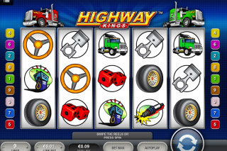 Highway Kings Mobile Slot Screenshot