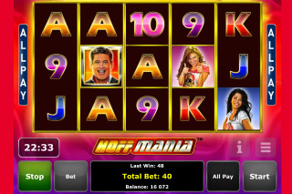 Hoffmania Mobile Slot Screenshot