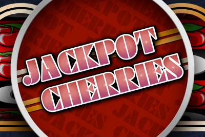 Jackpot Cherries Mobile Slot Logo