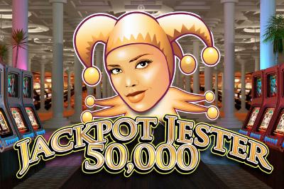 Jackpot Jester 50,000 Mobile Slot Logo