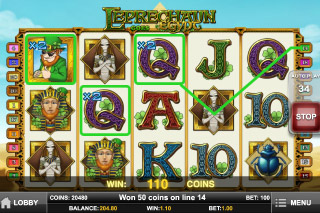 Leprechaun Goes Egypt Mobile Slot Win