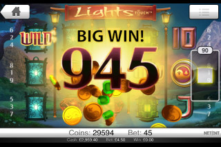 Lights Mobile Slot Big Win