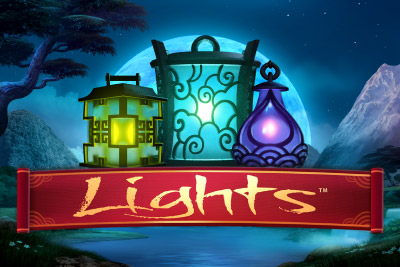 Lights Mobile Slot Logo