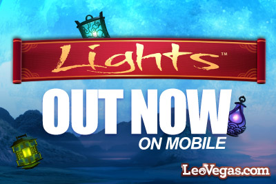 Lights Slot On Mobile Ready to Play at Leo Vegas Casino