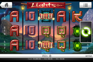 Lights Mobile Slot Screenshot