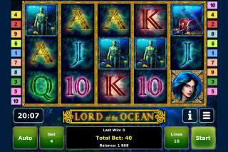 Lord of the Ocean Mobile Slot Screenshot