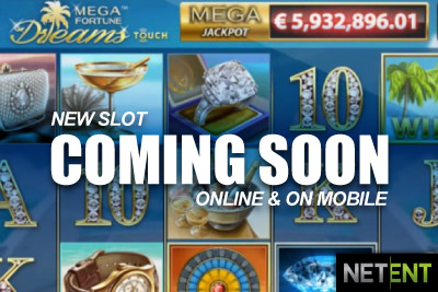Mega Fortune Dreams Touch at NetEnt Casinos Soon