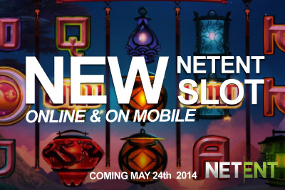 New NetEnt Slot on Mobile & Online Coming in May 2014
