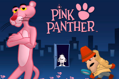 Pink Panther Mobile Slot Logo