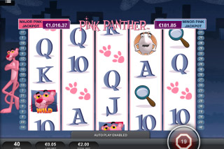 Pink Panther Mobile Slot Screenshot