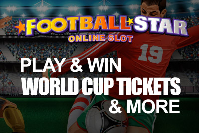 Play Football Star Slot & You Can Win World Cup Tickets