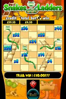 Snakes & Ladders Mobile Slot Bonus Game