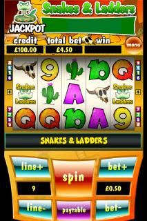 Snakes & Ladders Mobile Slot Screenshot