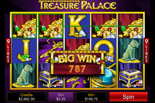 Treasure Palace Mobile Slot Big Win