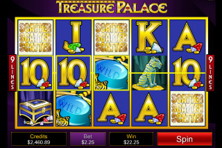 Treasure Palace Mobile Slot Scatters