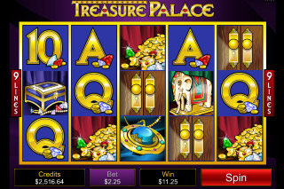 Treasure Palace Mobile Slot Screenshot