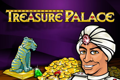 Treasure Palace Mobile Slot Logo