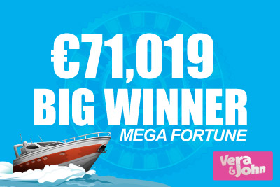 Mega Fortune Jackpot Slot Pays Out at Vera&John
