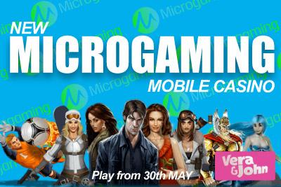 New Microgaming Casino Vera&John - Start Playing