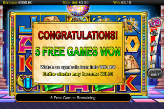 A While on the Nile Mobile Slot Free Games