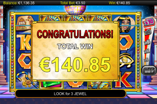 A While on the Nile Mobile Slot Win