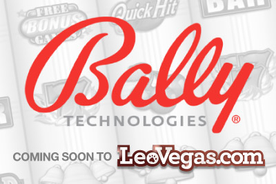 Leo Vegas Casino to Get Bally Slots & Games
