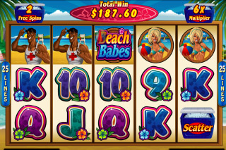 Beach Babes Mobile Slot Free Spins Games