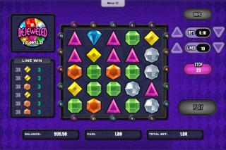 Bejeweled Mobile Slot Screenshot