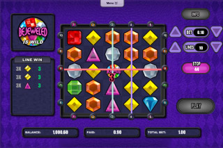 Bejeweled Mobile Slot Win