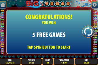 Big Vegas Mobile Slot Free Games