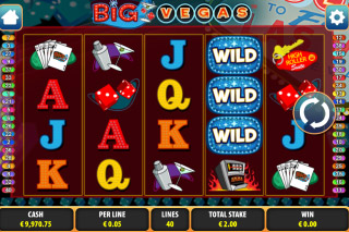 Big Vegas Mobile Slot Screenshot