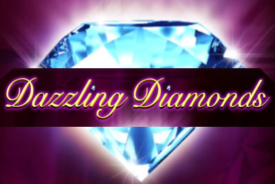 Dazzling Diamonds Mobile Slot Logo
