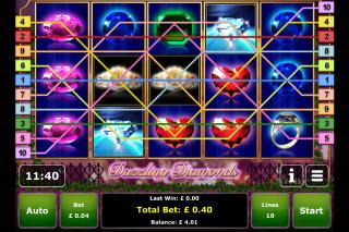 Dazzling Diamonds Mobile Slot Win
