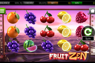Fruit Zen Mobile Slot Screenshot