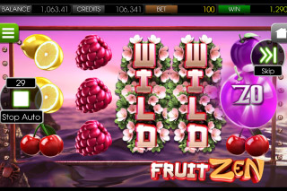 Fruit Zen Mobile Slot Expanding Wilds