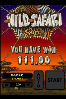 Go Wild On Safari Mobile Slot Big Win