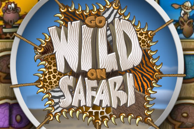 Go Wild On Safari Mobile Slot Logo