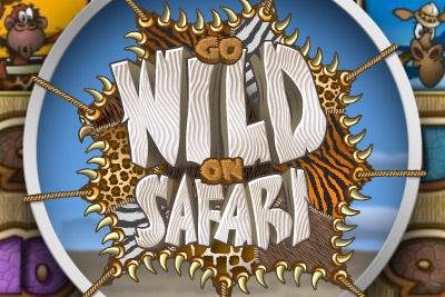 Go Wild On Safari Mobile Slot Logo